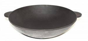 Сковорода WOK ЭКОЛИТ 1 л, 220*50мм, порционная, термообработанный ЭК22050