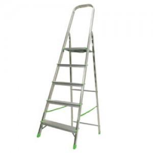 Стремянка металлическая KROSPER  KR 405  5 ступ., 109см, 6,38кг