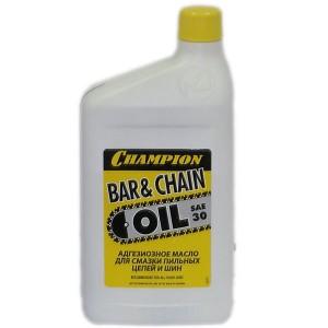 Масло для смазки цепей и шин CHAMPION 1л  952802