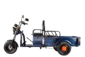 Электротележка грузовая (трицикл) RUTRIKE D1 1200 60V900W Синий-1974