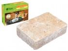 Соляной брикет для бани и сауны РОМАШКА 14,5*10,5*5 см, 1300 г