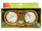 Термометр с гигрометром с песочными часами 27*13,8*7,5см