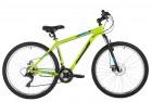 Велосипед 27,5' хардтейл, рама алюминий FOXX ATLANTIC D зеленый, диск, 18ск., 18' 27AHD.ATLAND.18GN1