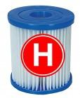 Фильтр картридж для насоса INTEX ТИП H 244/305/366см, 1250 л/ч, 1/4 28602 10556/29007