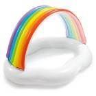 Бассейн INTEX 142*1149*84 см цвета радуги 57141