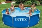 Бассейн каркасный INTEX Metal Frame 305*76 см, БЕЗ ОБОРУДОВАНИЯ 28200 (56997)