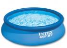 Бассейн надувной INTEX 396*84см Easy Set, БЕЗ ОБОРУДОВАНИЯ 28143