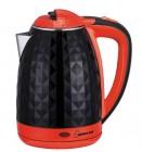 Чайник электрический Homestar HS-1015 1,8л, двойной корпус, черно-красный СТ-5 1704029