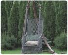 Гамак-кресло ИНКА серый/черный (19)