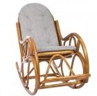 Кресло-качалка Classic с подушкой, цвет мед