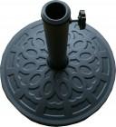 Подставка для установки и фиксации зонта БЛ из полипропилена, круглая TJIB-R-60