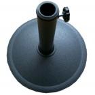 Подставка для установки и фиксации зонта БЛ из полипропилена, круглая  TJIB-R-050