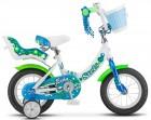 Велосипед 12' ECHO белый/морская-волна V020 8' LU085303