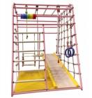 ДСК Вертикаль Веселый Малыш NEXT NEW COLOR розовый RAL 3015 (горка с мягкими бортиками)