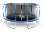 Батут Start Line Fitness 14 футов - 427 см, с внутренней сеткой и держателями 14480S2M