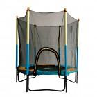 Батут DFC JUMP KIDS 60 дюймов-150 см, с сеткой, желтый/синий 60INCH-JD-BY