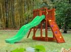 Деревянная детская площадка для дачи Мальта
