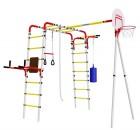 ДСК РОМАНА Fitness R.103.20.04 БАЗА (доп. комплектация качелями разных моделей) (4 места) 2020