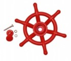 Детский корабельный штурвал Шторм 25 см красный PS-318