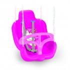 Качели DOLU 45*32*49 см, розовые 2569