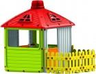 Игровой домик MOCHTOYS с забором 3011