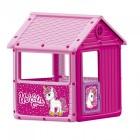 Игровой домик DOLU 100*104*125 см, розовый 2512