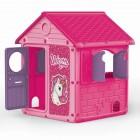 Игровой домик DOLU 100*104*125 см, розовый 2520