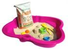 Песок для детских песочниц и игровых зон MIXPLANT ЕМЕЛЯ Белый, 30 кг (мешок)