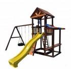 Деревянный детский игровой комплекс Perfetto Sport VERONA качели Шина