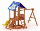 Деревянный детский игровой комплекс Росинка-3