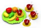 Набор фруктов и посуды-чайной Волшебная хозяюшка, 18 предметов 623H
