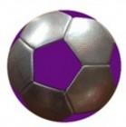 Мяч футбольный 22 см, 3-х слойный, 340 г, голлограмма 11409