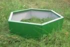 Клумба Дачник 80 см, зеленая