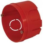 Коробка монтажная установочная FIT 64*40мм, 5 выводов, круглая 84200