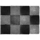 Коврик щетинистый VORTEX 42х56 см Травка черно-серый 23005
