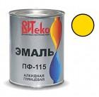 Эмаль желтая ПФ-115 ВИТЕКО 0,8 кг (14)