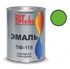 Эмаль салатная ПФ-115 ВИТЕКО 0,8 кг (14)