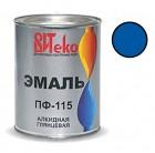 Эмаль синяя ПФ-115 ВИТЕКО 0,8 кг (14)