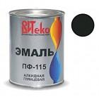 Эмаль черная ПФ-115 ВИТЕКО 0,8 кг (14)