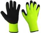 Перчатки Акриловые Стекольщика утепленные ЗИМА Лайт (салатовые) 610 СО