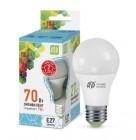 Лампа светодиодная ASD  E27  160-260B  7W  LED-A60-standart 4000K