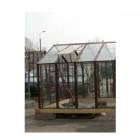 Форточка на крышу к теплице ТСП-13 оцинкованная+стекло