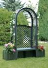 Скамейка садовая KHW Лекс Амстердам зеленая 43803