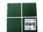 Плитка для пола Plasto-rip из блоксополимера зеленая 40*40*1,8 за 1м