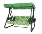 Садовые качели Arno-Werk  ЭЛЕГАНТ зеленые, 3-х местные, ф 63 мм, до 300 кг