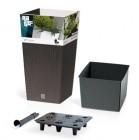 Горшок для растений RATO SQUARE SET 49 л, цвет венге DRTS325S-440U