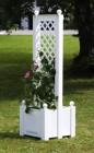 Ящик для растений Лекс с шпалерой 43см, маленький 37401 (17-З)