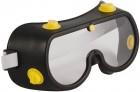 Очки защитные FIT с непрямой вентиляцией, черный корпус 12225