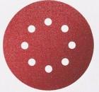 Круг абразивный MATRIX 125мм, P220 перфорированный, на ворс. подложке под липучку, цена за шт. 73809
