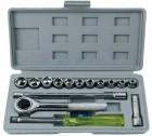 Набор слесарно-монтажного инструмента FIT 1/4'мм, 16шт. 65018